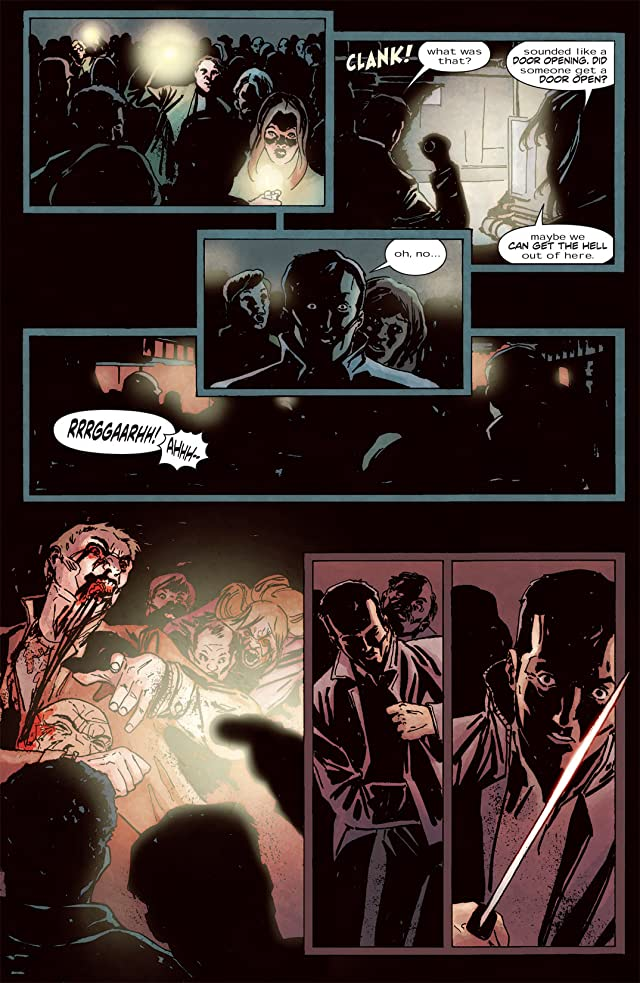 click for super-sized previews of 28 Days Later #23