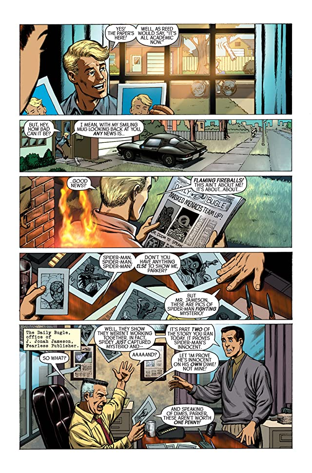click for super-sized previews of Spider-Man/Human Torch #1