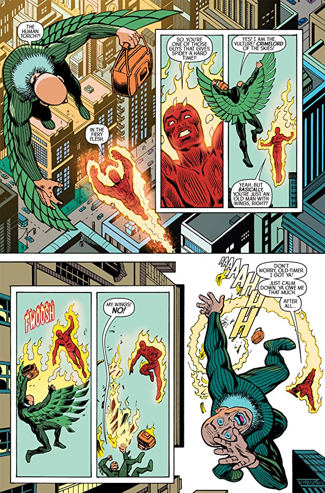 click for super-sized previews of Spider-Man/Human Torch #2