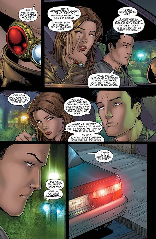 click for super-sized previews of Witchblade #84