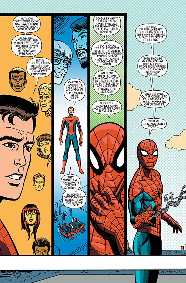 click for super-sized previews of Spider-Man/Human Torch #3