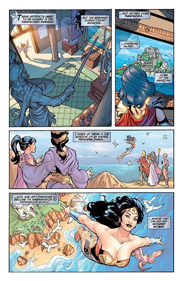 click for super-sized previews of Wonder Woman (2006-2011) #1