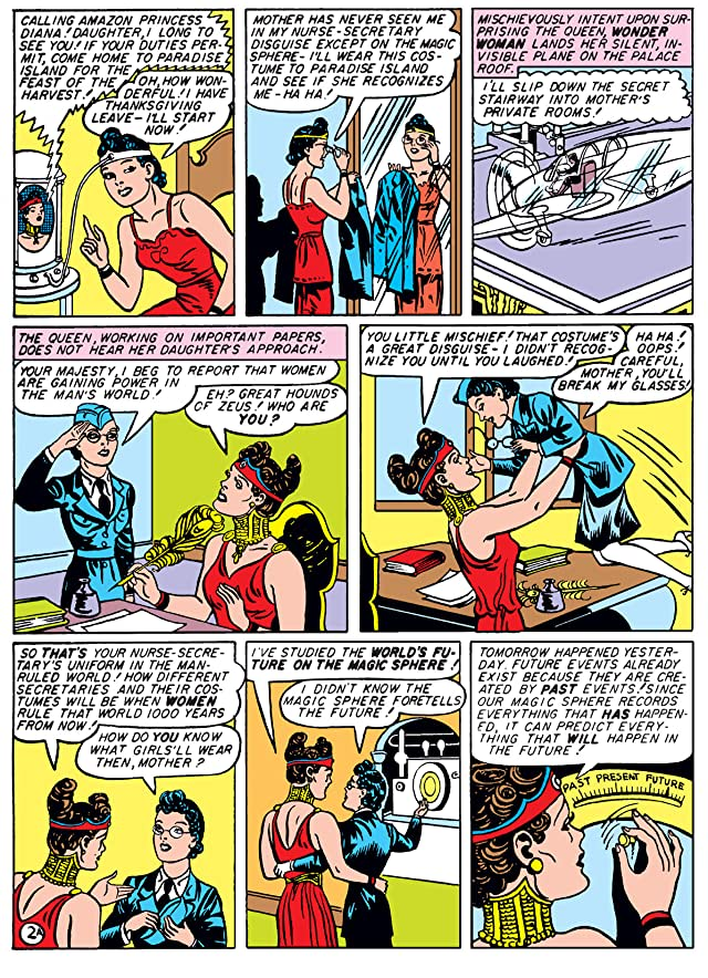 click for super-sized previews of Wonder Woman (1942-1986) #7
