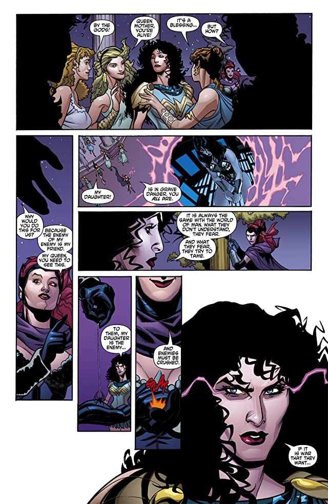 click for super-sized previews of Wonder Woman (2006-2011) #8