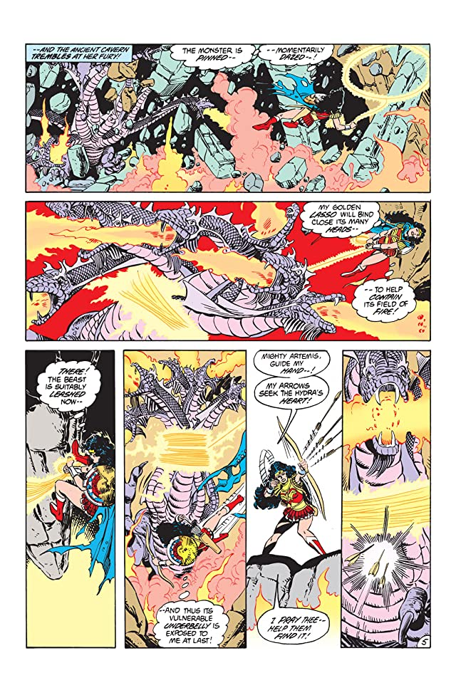 click for super-sized previews of Wonder Woman (1987-2006) #11