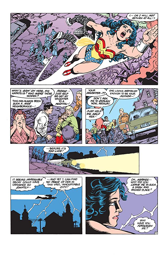 click for super-sized previews of Wonder Woman (1987-2006) #4