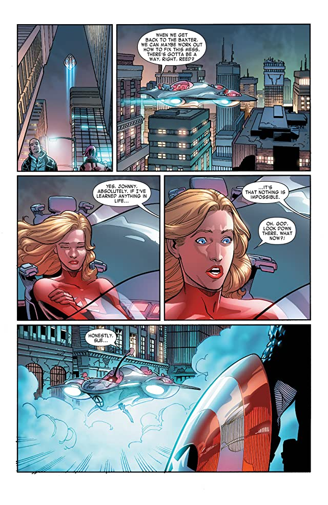 click for super-sized previews of Fantastic Four (2014-2015) #6