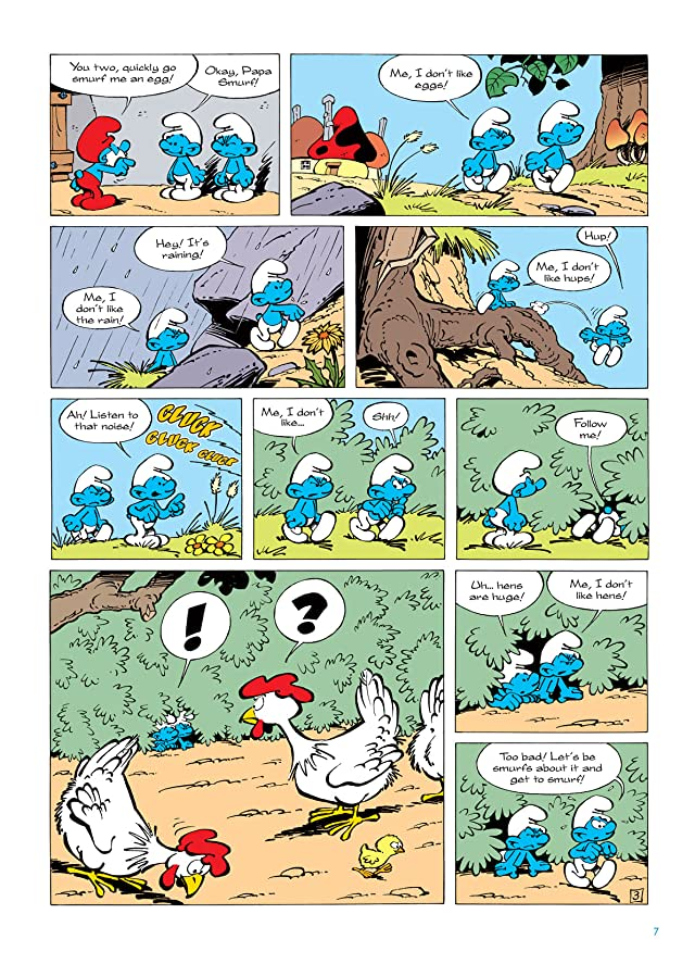 click for super-sized previews of The Smurfs Vol. 5: The Smurfs and the Egg
