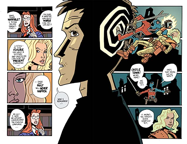 click for super-sized previews of The Weird World of Jack Staff #6