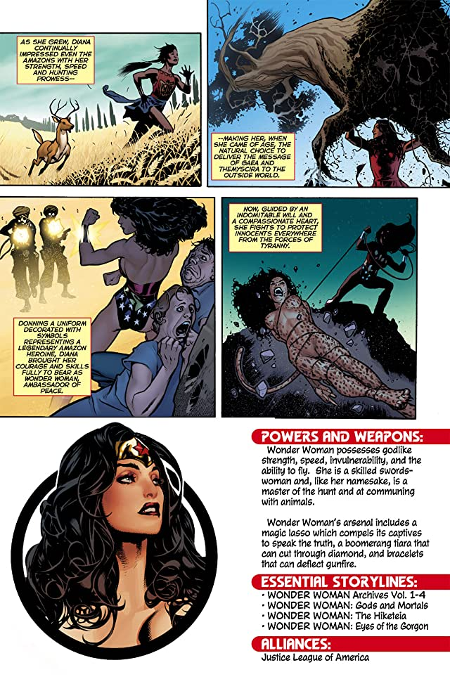 click for super-sized previews of Wonder Woman 101