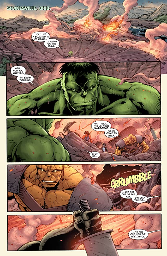 click for super-sized previews of Skaar: Son of Hulk #12