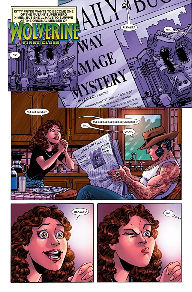 click for super-sized previews of Wolverine: First Class #15
