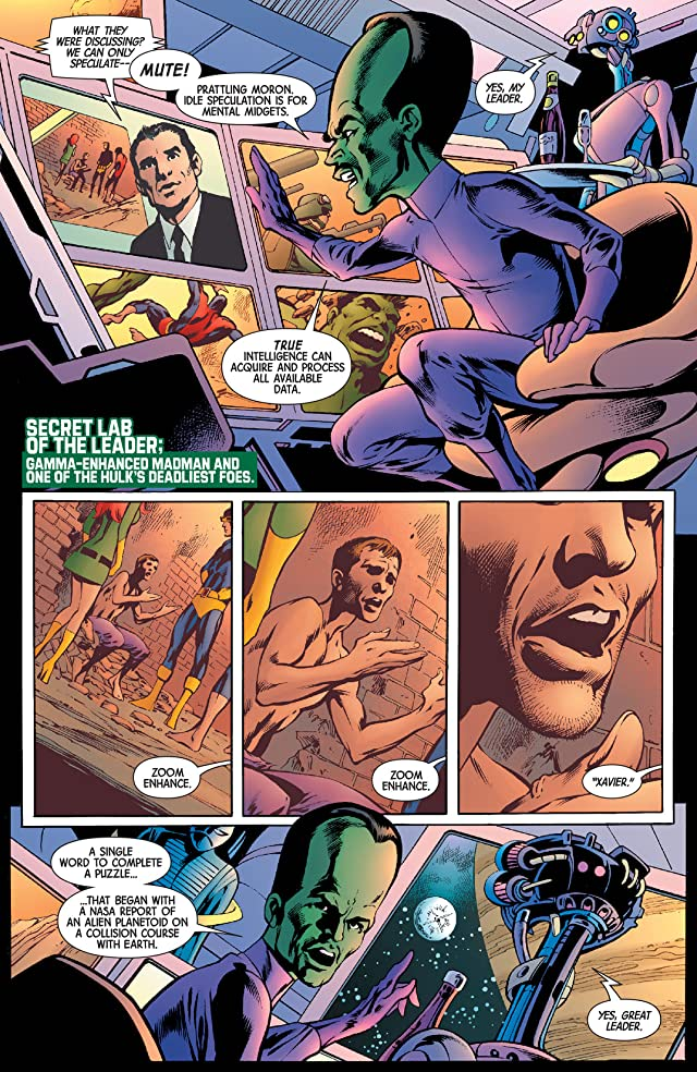 click for super-sized previews of Savage Hulk #1