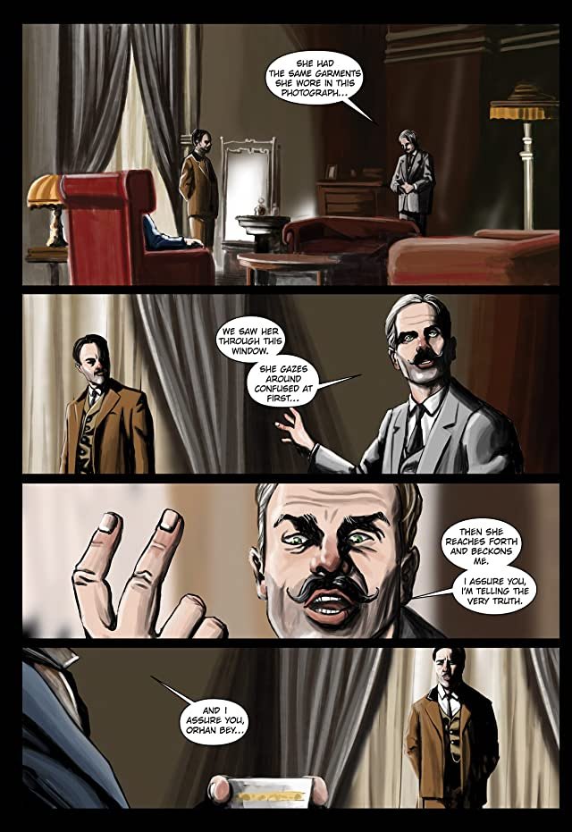 click for super-sized previews of The Exceptional Adventures Of Seyfettin Efendi #1