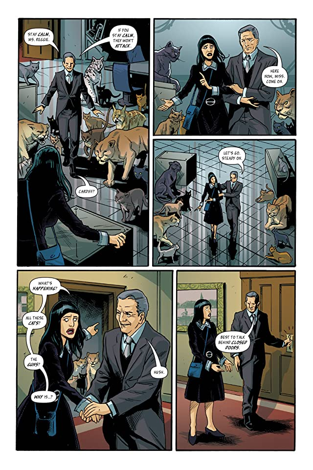 click for super-sized previews of I Was the Cat #6