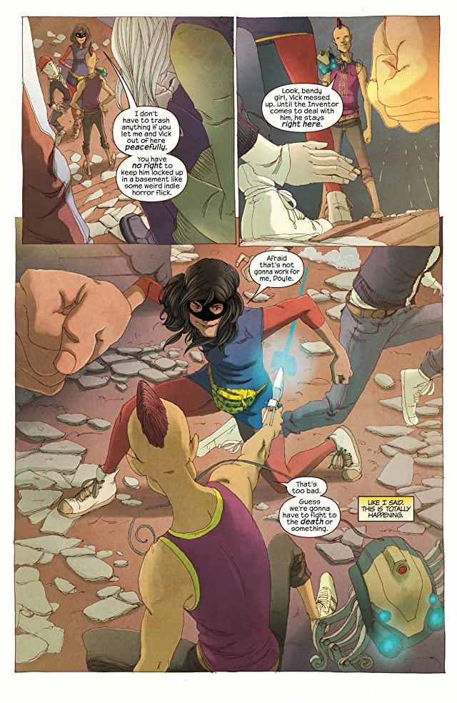 click for super-sized previews of Ms. Marvel (2014-) #5