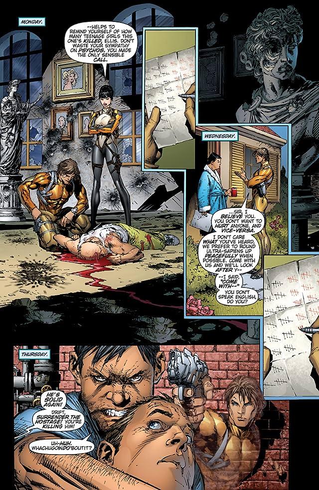 click for super-sized previews of Hunter Killer #5