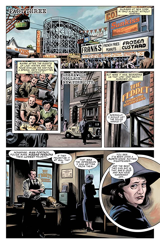 click for super-sized previews of The Marvels Project #3