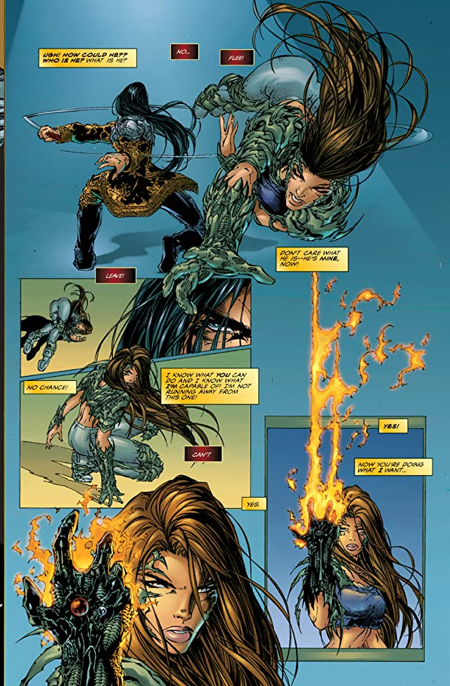 click for super-sized previews of Witchblade #4