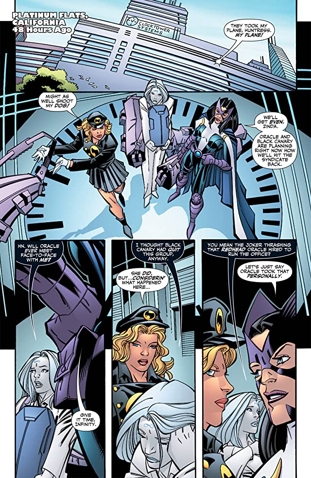 click for super-sized previews of Birds of Prey (1999-2009) #125