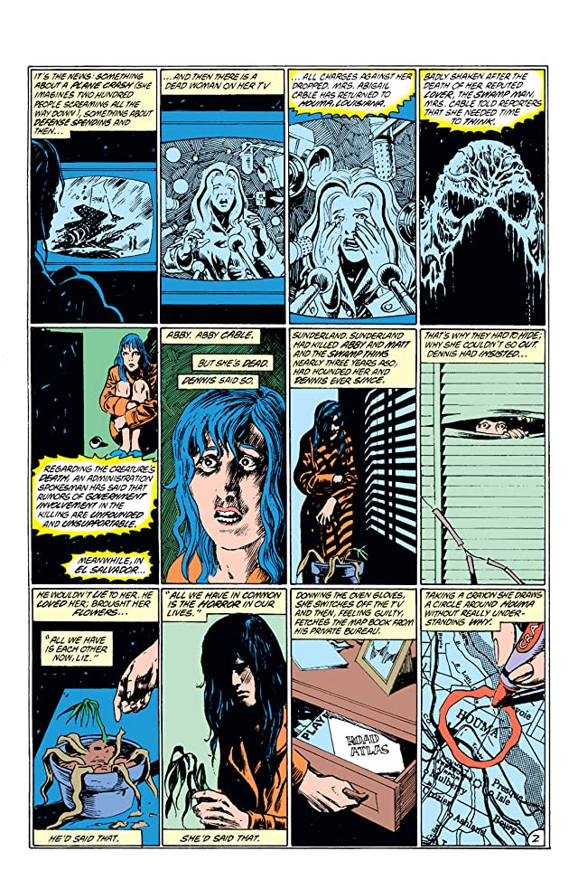 click for super-sized previews of Swamp Thing (1982-1996) #54