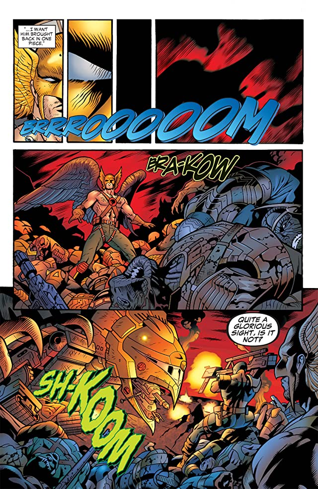 click for super-sized previews of Hawkman (2002-2006) #38