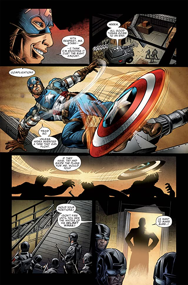 click for super-sized previews of Captain America: The First Avenger #6: First Vengeance