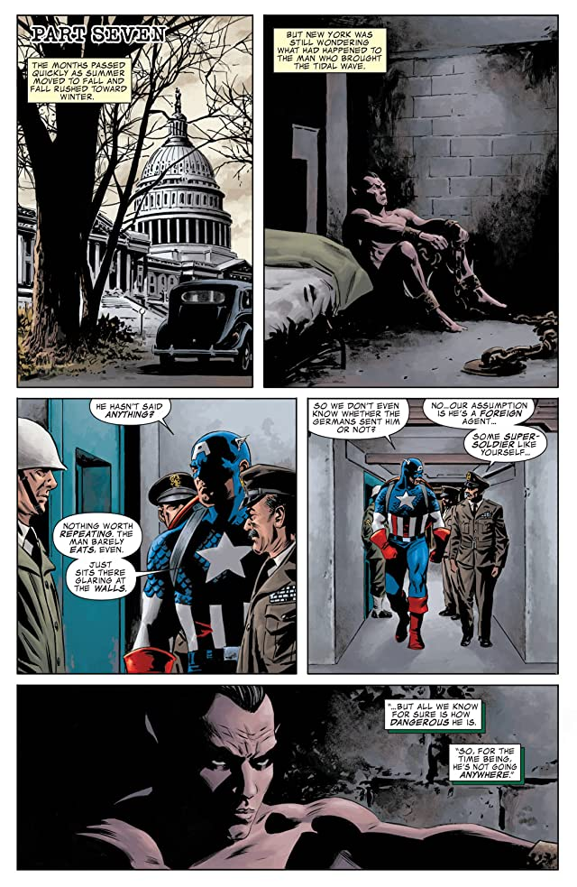 click for super-sized previews of The Marvels Project #7