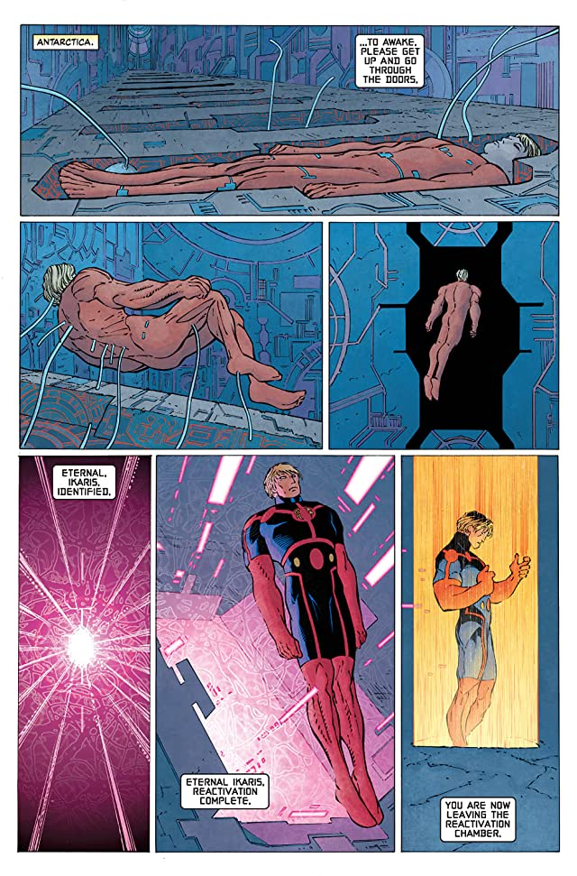 click for super-sized previews of Eternals #4