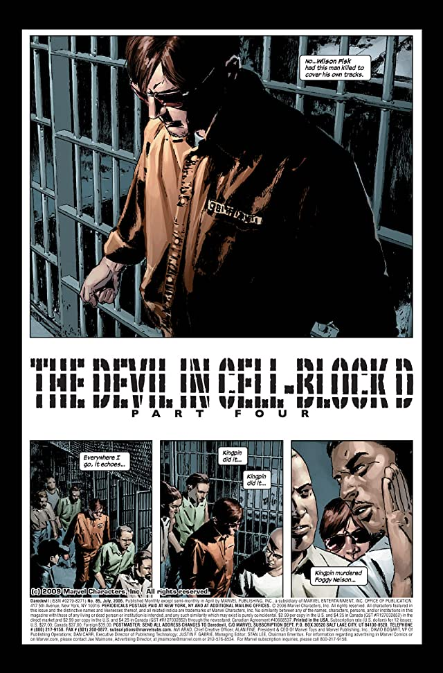 click for super-sized previews of Daredevil (1998-2011) #85