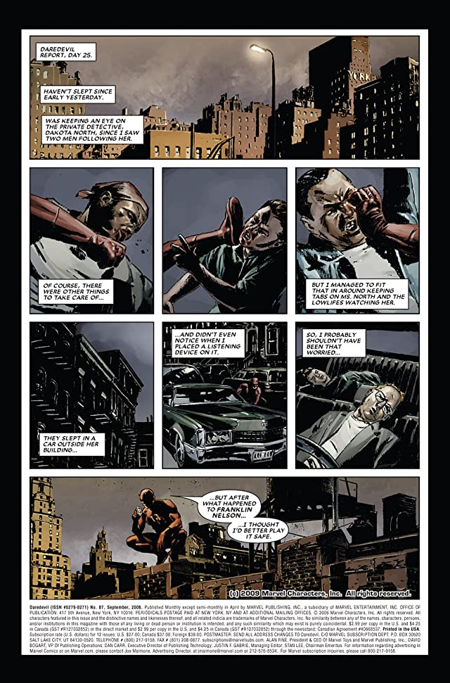 click for super-sized previews of Daredevil (1998-2011) #87