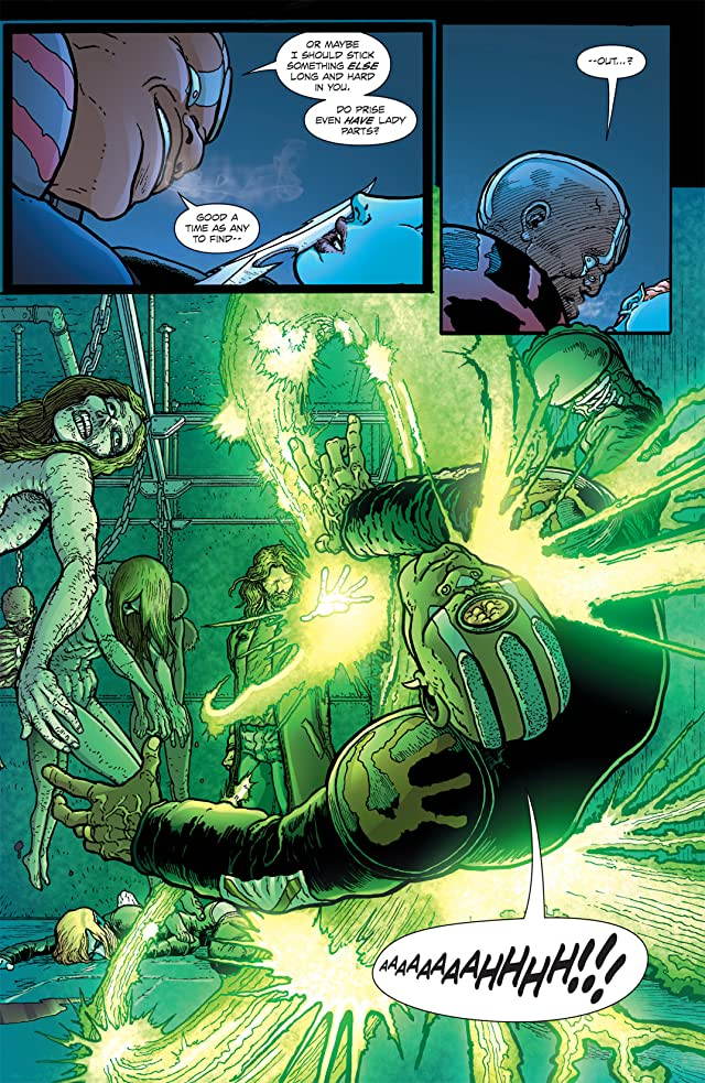 click for super-sized previews of The Amory Wars: In Keeping Secrets of Silent Earth 3 #11