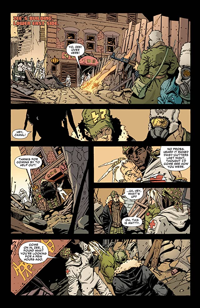 click for super-sized previews of DMZ #2