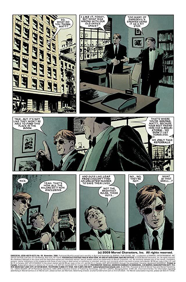 click for super-sized previews of Daredevil (1998-2011) #89