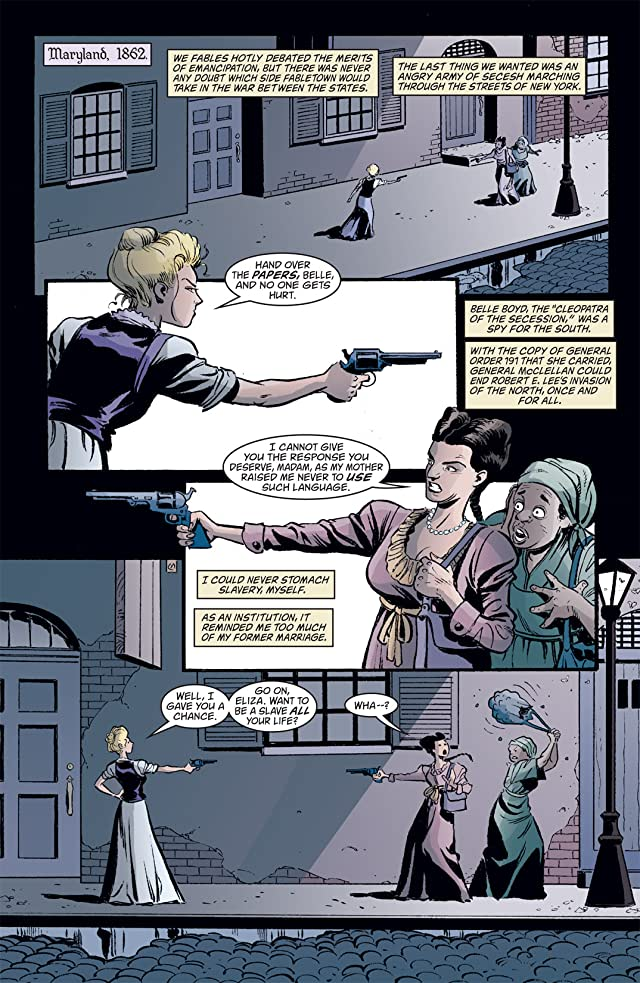 click for super-sized previews of Cinderella: From Fabletown With Love #3