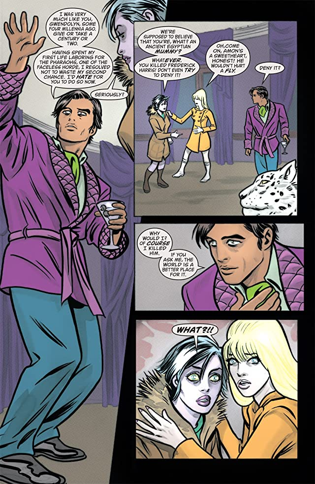 click for super-sized previews of iZombie #4