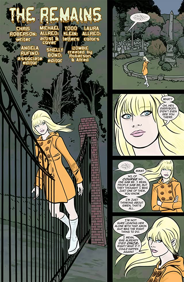 click for super-sized previews of iZombie #5