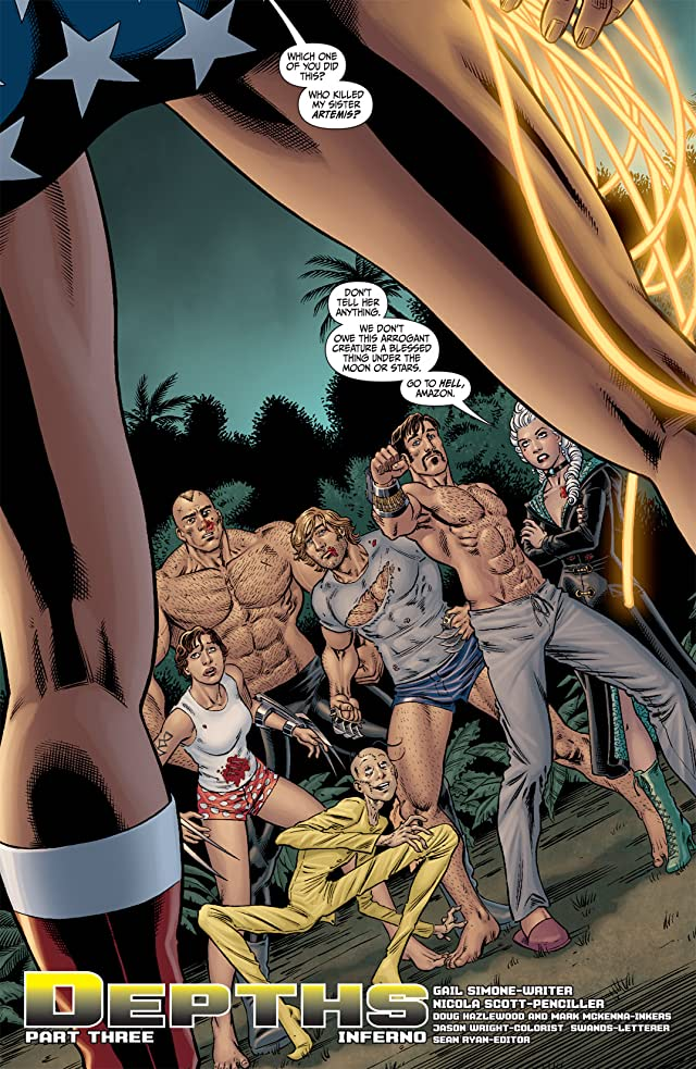 click for super-sized previews of Secret Six (2008-2011) #12