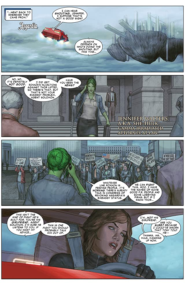 click for super-sized previews of Thor: God of Thunder #24