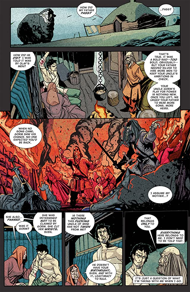 click for super-sized previews of Northlanders #2