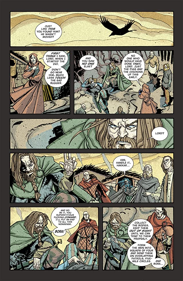 click for super-sized previews of Northlanders #4