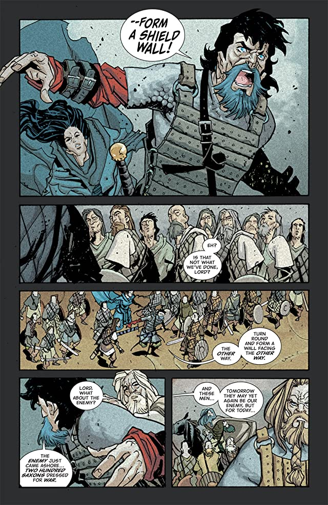 click for super-sized previews of Northlanders #7