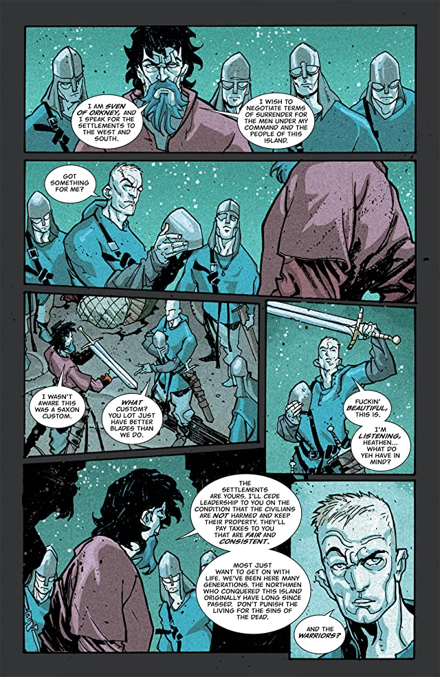 click for super-sized previews of Northlanders #8