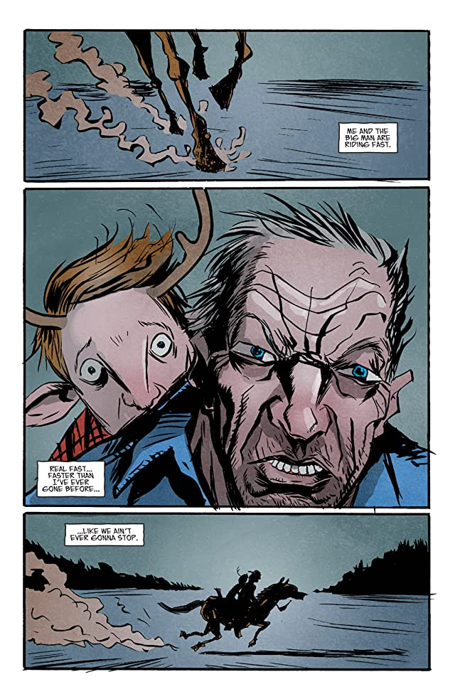 click for super-sized previews of Sweet Tooth #5