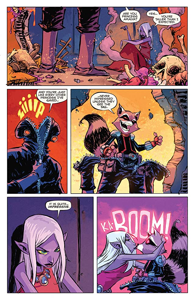 click for super-sized previews of Rocket Raccoon (2014-2015) #1