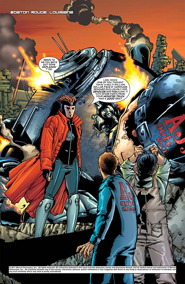 click for super-sized previews of Gambit Vol. 4 #1