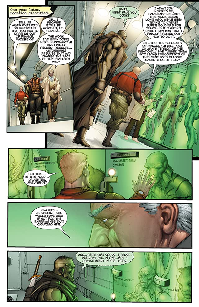 click for super-sized previews of Flashpoint: Frankenstein and the Creatures of the Unknown #1