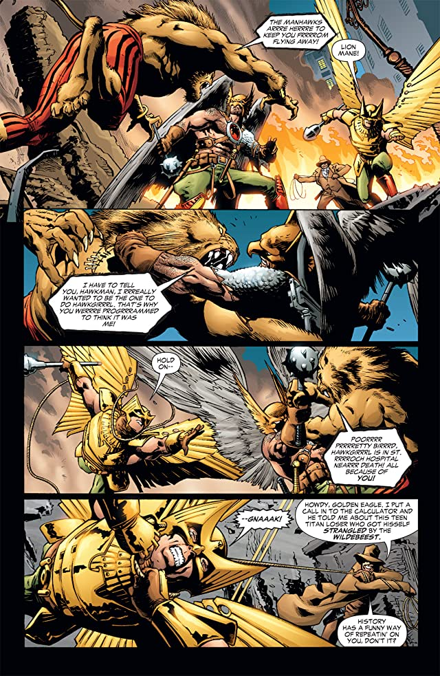 click for super-sized previews of Hawkman (2002-2006) #41