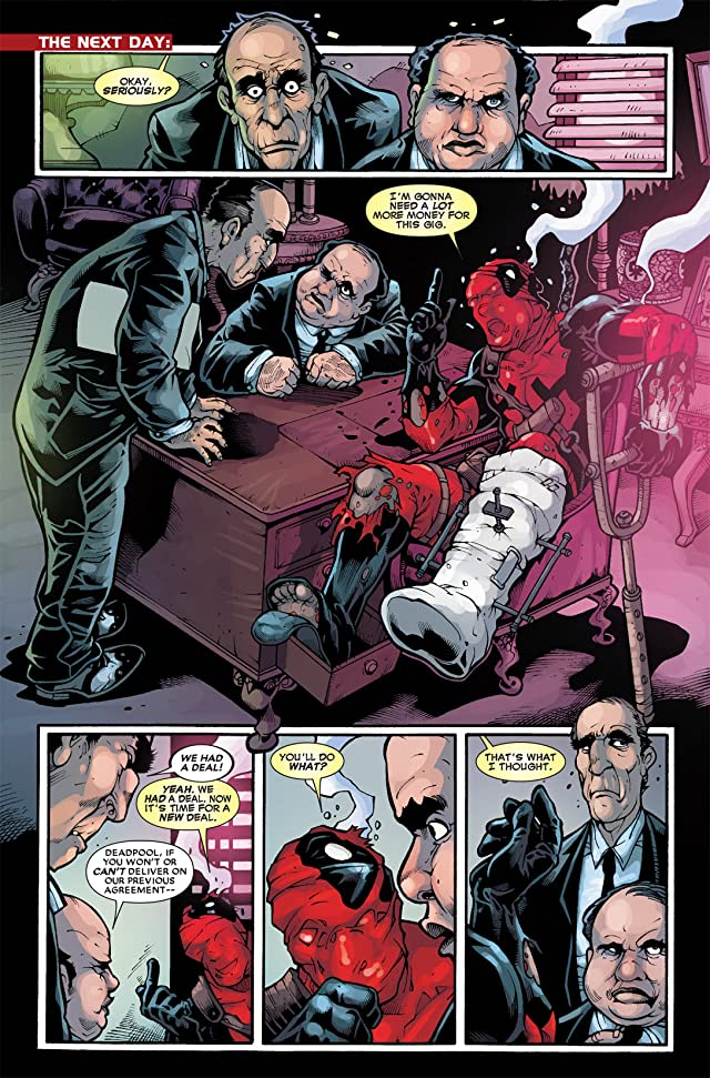 click for super-sized previews of Deadpool (2008-2012) #33.1