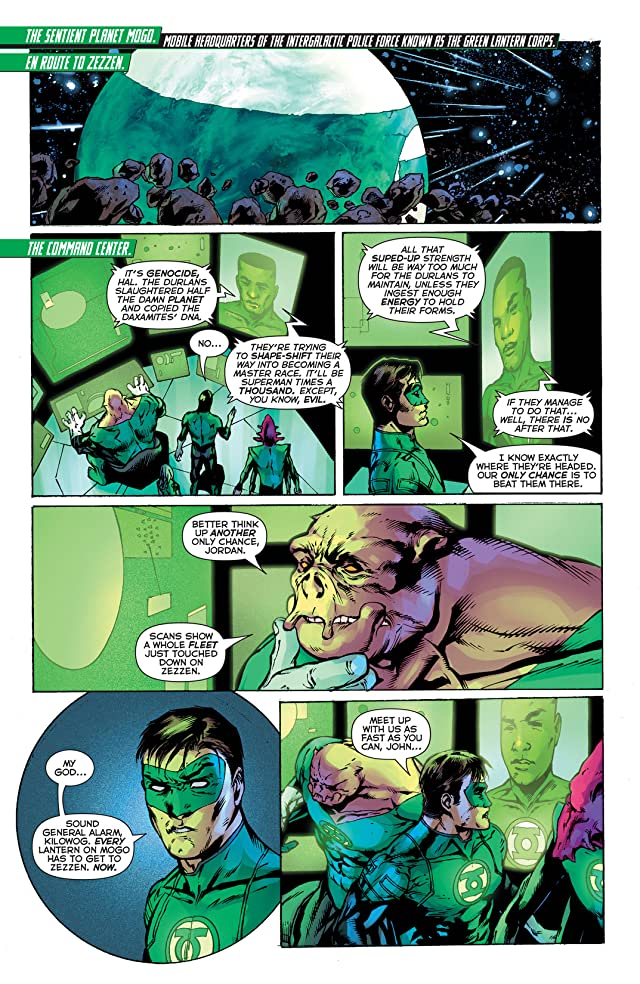click for super-sized previews of Green Lantern (2011-) #33